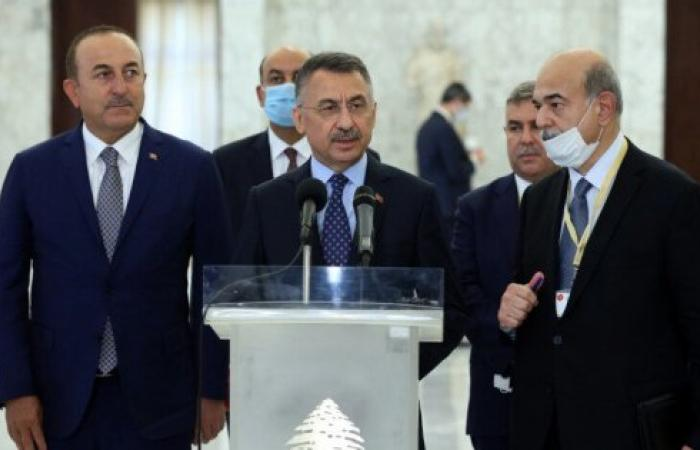 نائب الرئيس التركي: المساعدات مُستمرة… واستعداد لبناء مرفأ بيروت من جديد
