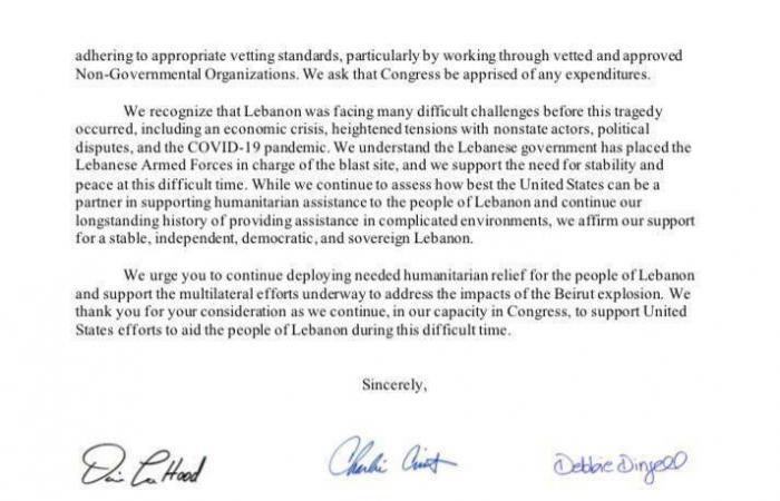 هذا ما طلبه الكونغرس من بومبيو.. وما علاقة لبنان؟