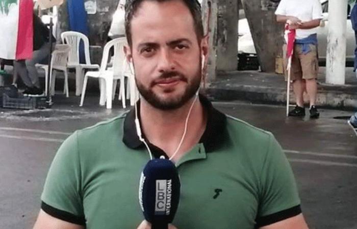 إصابة إدمون ساسين خلال تظاهرات وسط بيروت