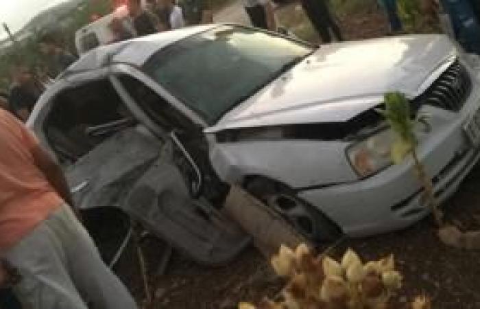 فلسطين   محدث 2  وفاة سيدة وحفيدتها و8 إصابات بحادث سير غرب جنين