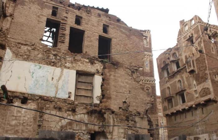 اليمن   صنعاء في خطر.. تهدم 111 منزلاً بمدينة التراث العالمي