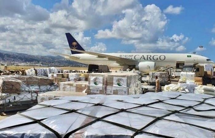 السعودية | وصول طائرة الإغاثة الـ4 إلى لبنان ضمن الجسر الجوي السعودي