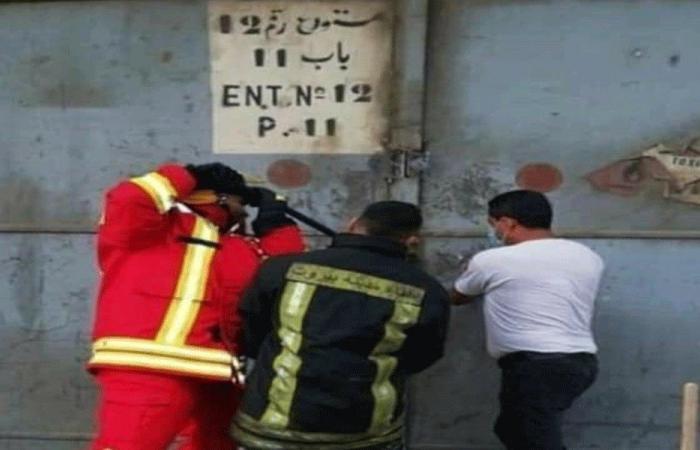 """مستودع أسلحة وذخائر انضم إلى """"حفلة التفجير"""" في بيروت؟"""