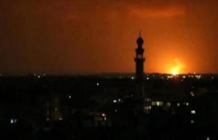 فلسطين | الاحتلال يقصف نقطة رصد للمقاومة بغزة