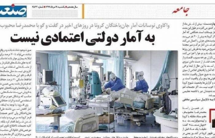إيران   مسؤول إيراني: ضحايا كورونا 20 ضعفاً.. والتكتم سببه أمني