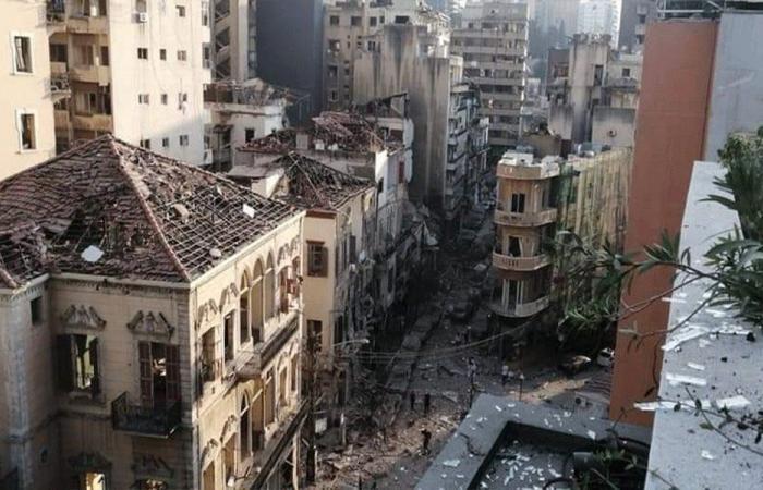 محافظ بيروت: لإخلاء المزيد من المباني المهددة بالإنهيار