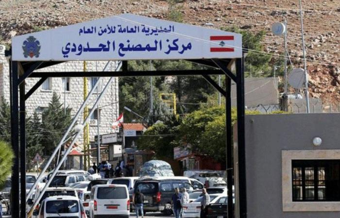 """فتح """"المصنع"""" و""""العبودية"""" أمام اللبنانيين في سوريا الراغبين بالعودة"""