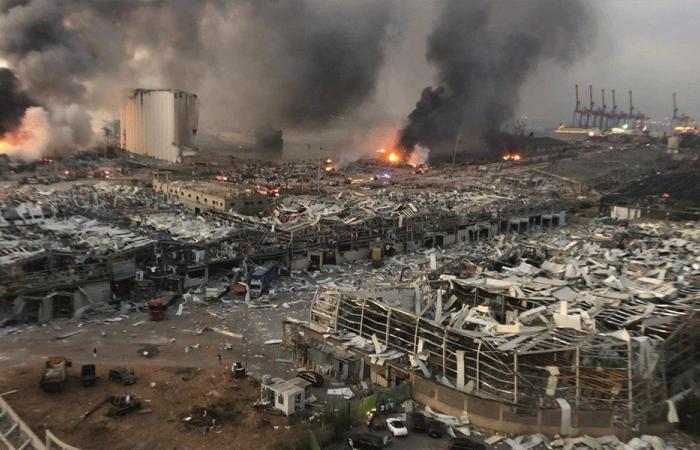 فيديو جديد يوثّق ما حدث لحظة وقوع انفجار بيروت