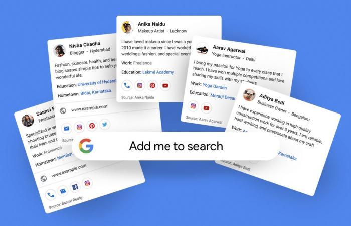 جوجل تختبر ميزة تجعلك تظهر في نتائج البحث كالمشاهير