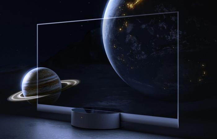 تلفاز OLED الشفاف الجديد من شاومي بكلفة 7000 دولار