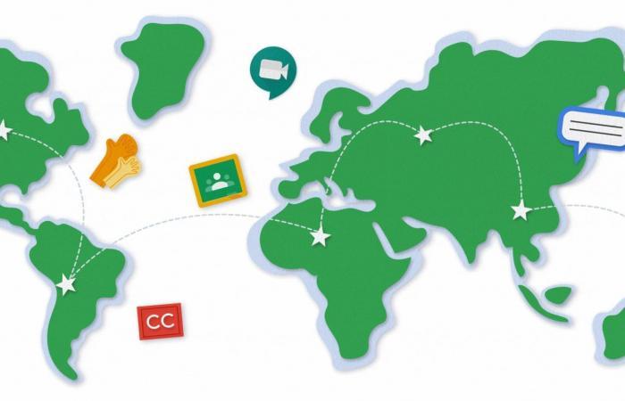 أدوات جديدة من جوجل تدعم التعليم الافتراضي أثناء الوباء