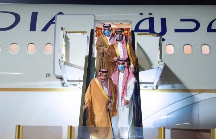 السعودية | السعودية.. الملك سلمان يصل نيوم للراحة والاستجمام