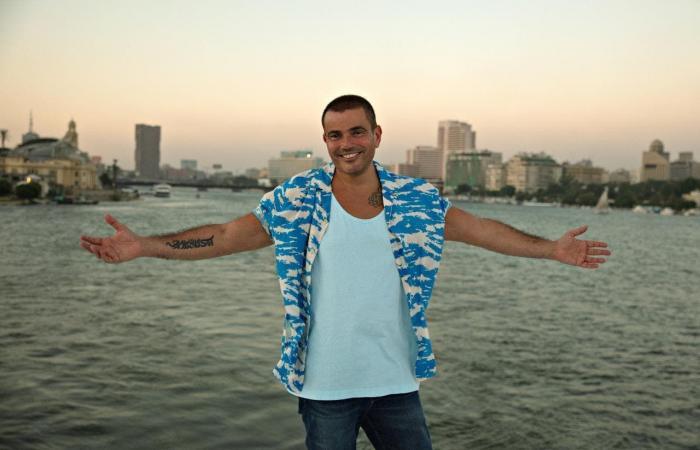 تسريب أغنية عمرو دياب الجديدة.. ودينا الشربيني بطلة الكليب