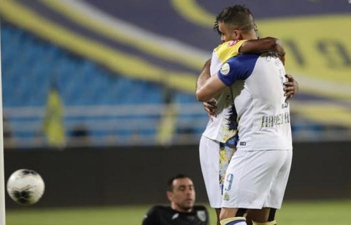 """النصر يكتسح التعاون.. و""""هاتريك"""" لحمدالله"""