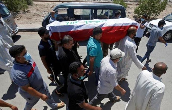 العراق   دماء ناشطين سالت وسطها.. استنفار أمني في البصرة