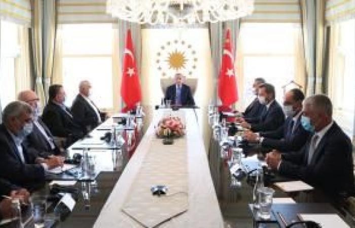 فلسطين | هنية يتباحث وأردوغان في إسطنبول