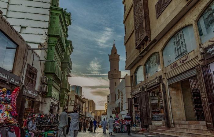 السعودية   لقطات خلابة.. مصور سعودي يوثق مباني جدة