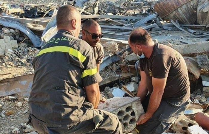 عمليات البحث عن مفقودين في مرفأ بيروت مستمرة (صور)