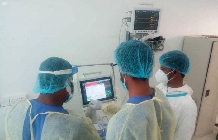 السعودية | مركز الملك سلمان يعزز قدرات مستشفى بحضرموت ضد الوباء
