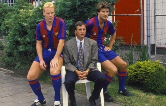كومان: تعلمت الكثير من كرويف.. ودي يونغ مستقبل برشلونة