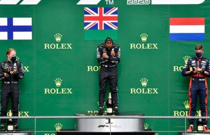 هاميلتون يفوز بسباق جائزة بلجيكا الكبرى