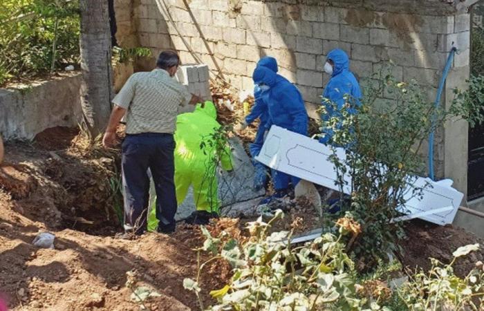 اول حالة دفن لمصاب بكورونا في عكار العتيقة