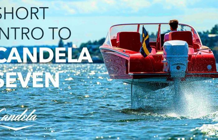 """شاهد Candela Seven.. أول قارب كهربائي """"طائر"""" في العالم"""