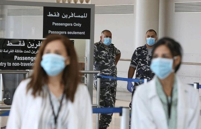 """4 إصابات بـ""""كورونا"""" على متن رحلات وصلت بيروت خلال 3 أيام"""