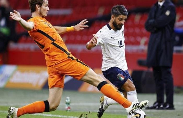 إيطاليا تهزم هولندا وتنفرد بصدارة المجموعة