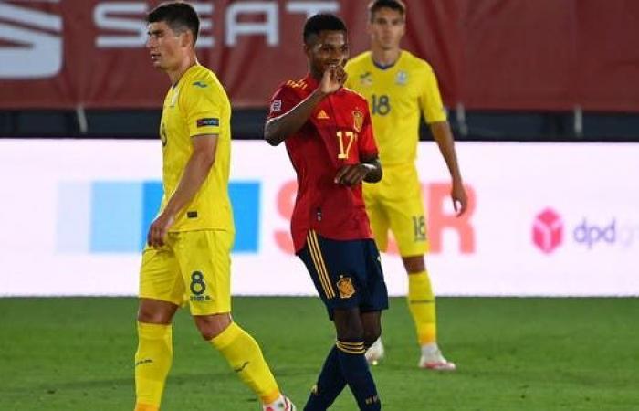 الشاب فاتي يدخل التاريخ في فوز إسبانيا على أوكرانيا