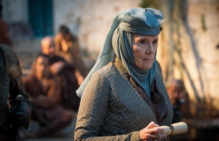 """أحد أشهر أبطال مسلسل """"game of thrones"""".. وفاة الممثلة البريطانية ديانا عن عمر 82 عاماً"""