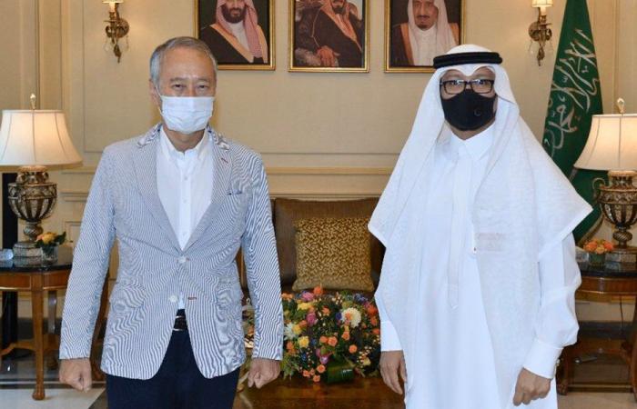 بخاري التقى السفير الياباني