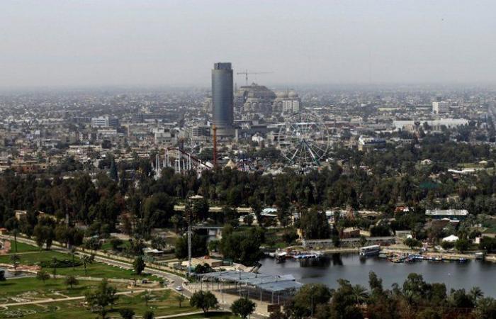 إطلاق صاروخين على المنطقة الخضراء في بغداد
