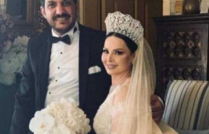 زواج الفنانة ديانا كرزون من الإعلامي معاذ العمري.. والحفل ينتهي في قسم الشرطة (فيديو)