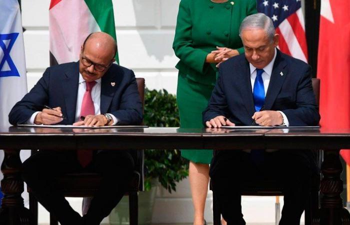 البحرين وإسرائيل توقعان اتفاقية إعلان تأييد السلام