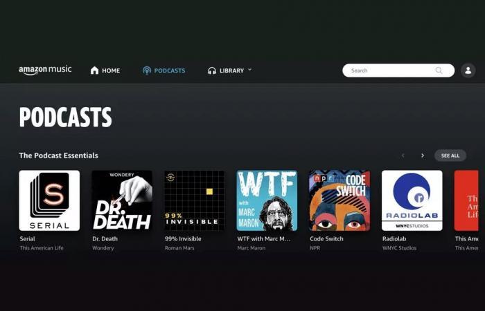 أمازون تعلن رسميًا عن إطلاق ميزة البودكاست في Amazon Music