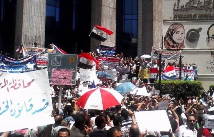 مصر: 75 احتجاجاً اجتماعياً وعمالياً خلال الربع الثالث من 2020