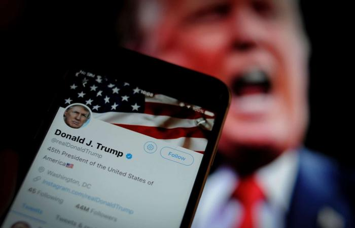 تويتر تضع علامة تحذير على تغريدة لترامب بشأن التصويت عبر البريد