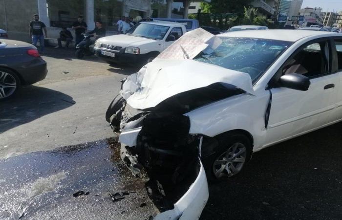 جريحان بحادث سير في حبوش (صوَر)
