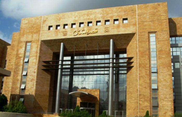 إقفال قصر عدل طرابلس للتعقيم