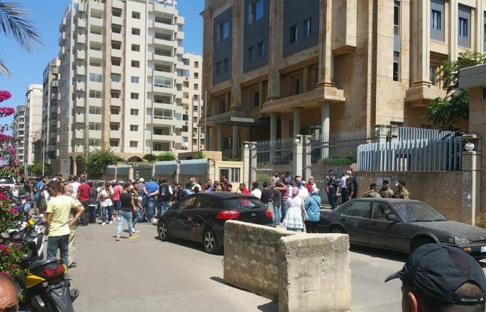 اعتصام في طرابلس احتجاجًا على الفساد