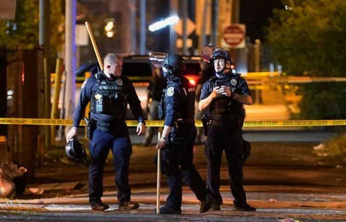 إصابة جنديين واعتقال مشتبه به إثر تظاهرات في لويفيل