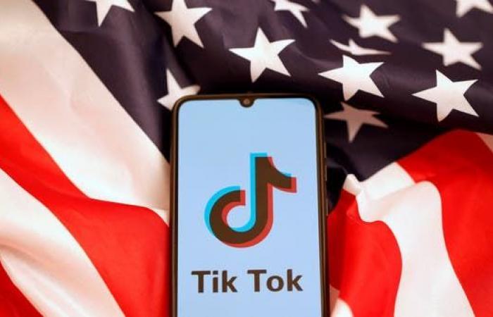 """حظر تطبيق """"تيك توك"""" في الولايات المتحدة يبدأ الأحد"""