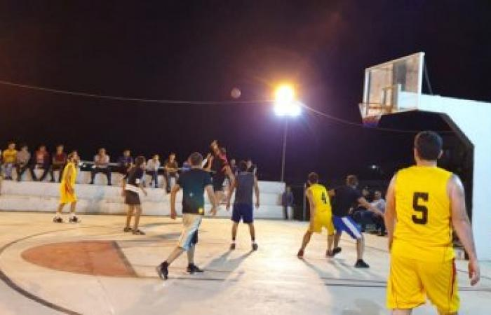 إفتتاح دورة نادي الحدود الأولى لكرة السلة (صور)