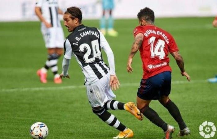 ليفانتي يقلب الطاولة على أوساسونا في الدوري الإسباني