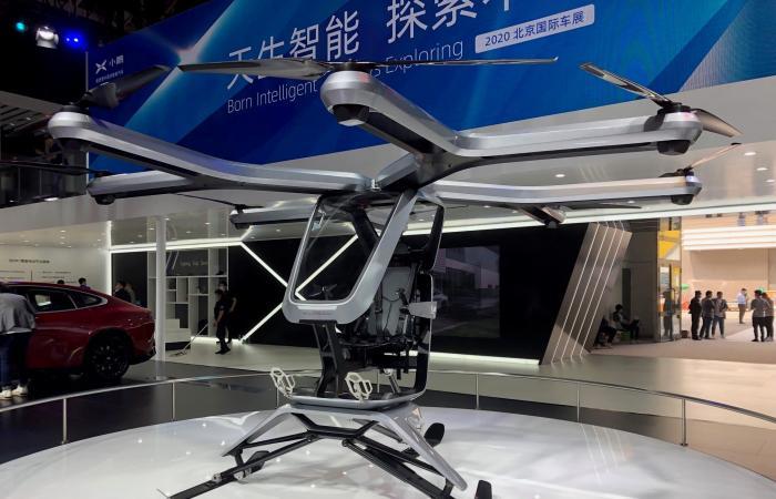 Xpeng تعرض مركبة طيران كهربائية جديدة