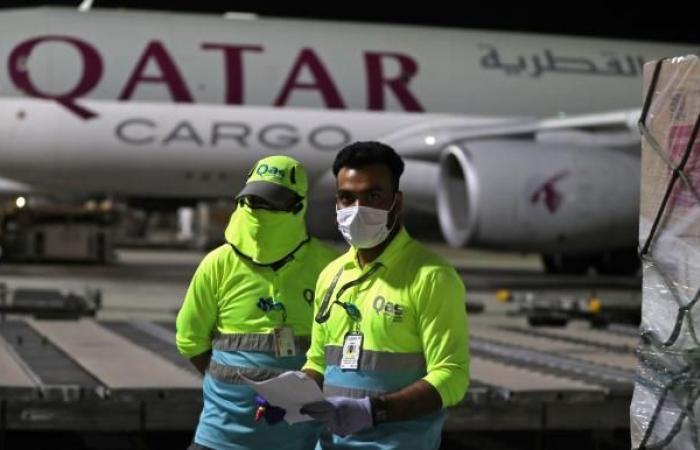 قطر: تحويل رحلات من مطار حمد بعد هبوط اضطراري لطائرة شحن