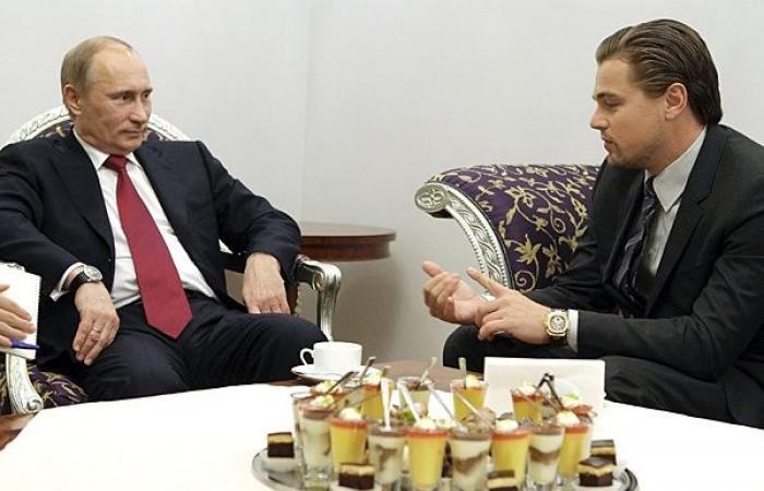 فلاديمير بوتين من أشد معجبيه، وتبنى طفلة من الموزمبيق.. ما لا تعرفه عن ليوناردو دي كابريو