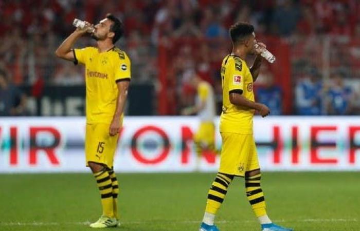 غياب سانشو وبيركي عن مباراة كأس السوبر الألمانية