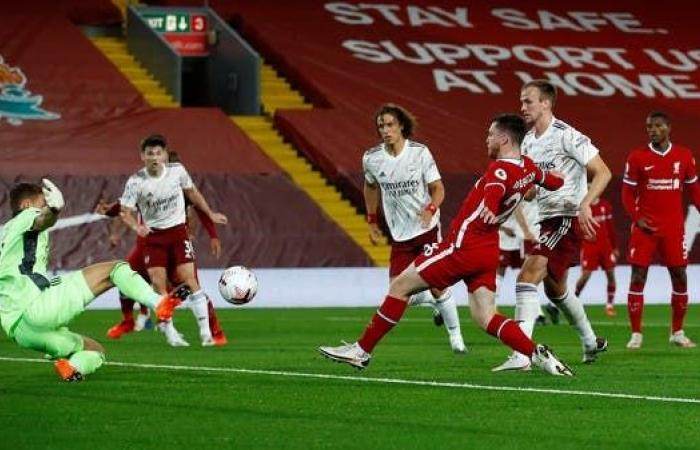 ليفربول يواصل بدايته القوية ويهزم أرسنال بثلاثة أهداف
